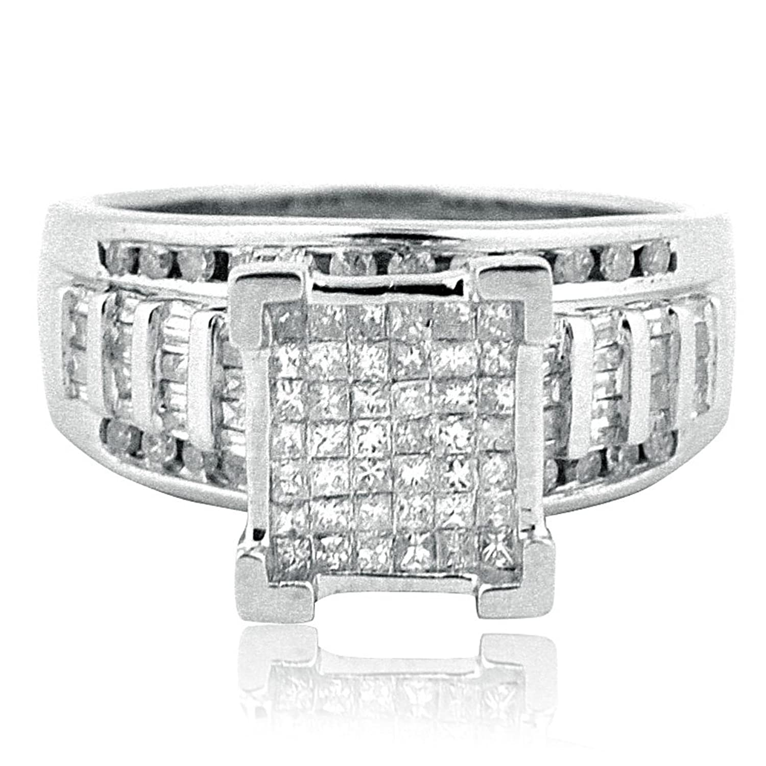 diamond matching his engagement hers wedding cz stone and c rings sets ring engagment titanium nl bands