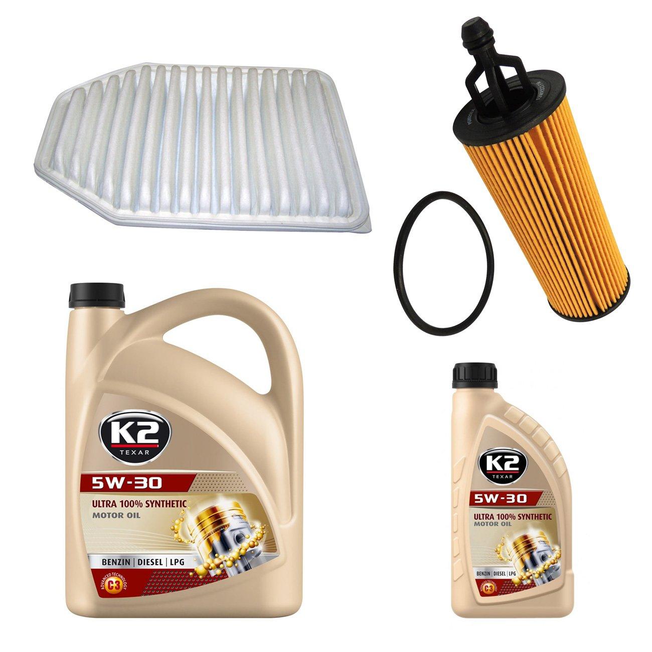 Kit Filtros y aceite 3.6L