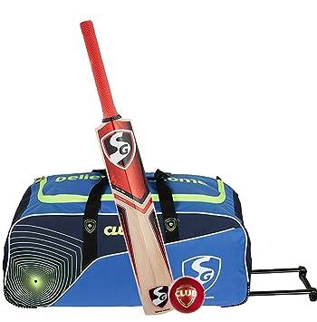 cb4c3fc599 Buy SG Strokewell Club Clubpak Cricket Kit (1 SG Strokewell Kashmir ...