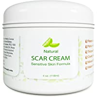 Best Scar Cream for Face - Vitamin E Oil for Skin After Surgery - Stretch Mark Remover for Men & Women - Anti Aging…