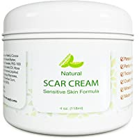 Best Scar Cream for Face - Vitamin E Oil for Skin After Surgery - Stretch Mark Remover...