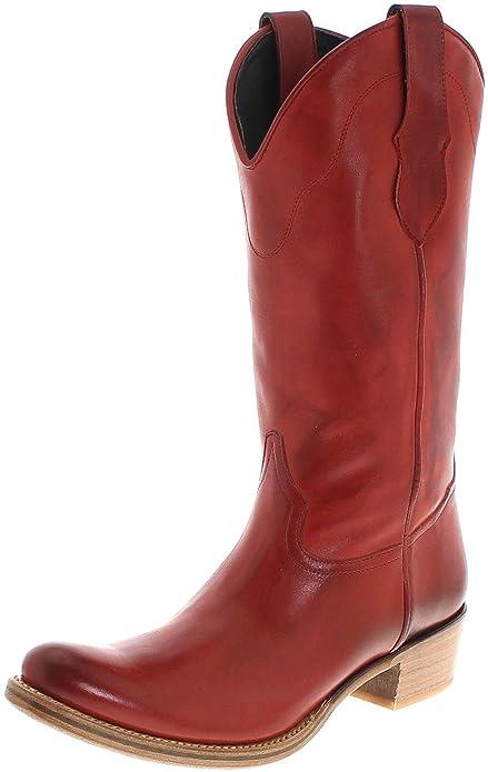 e94c3f444f FB Fashion Boots - Botas De Vaquero de Piel Mujer  Amazon.es  Zapatos y  complementos