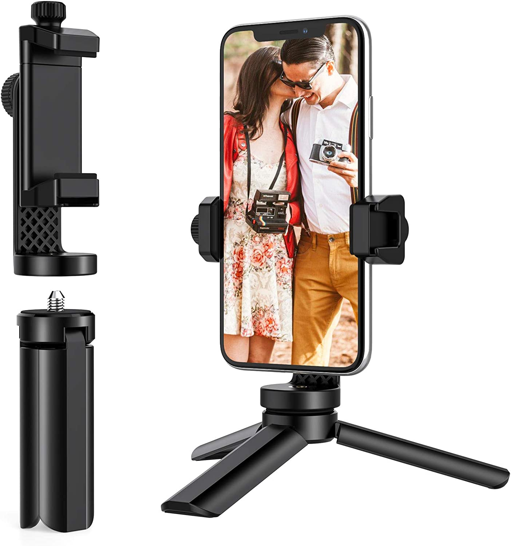 Anozer Mini Tripod Mini Selfie Stick Stativ Mit Kamera