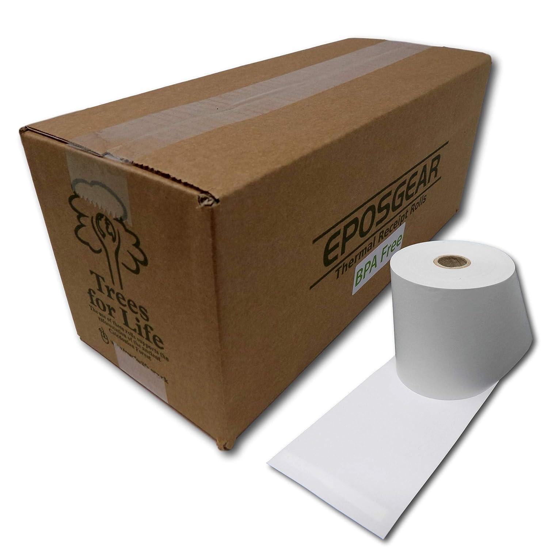 Eposgear® (20 rollos) 57 mm x 57 mm 57 x 57 rollos de papel ...