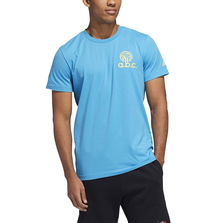 adidas ABC Nvr Divided Camiseta, Bebé-Niños Bebé-Niños