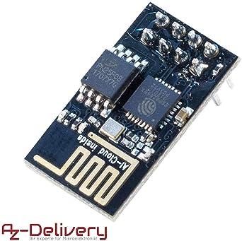 Azdelivery Esp8266 Esp 01s Módulo Wi Fi Wifi Para Arduino Y Raspberry Pi Con Ebook Incluido