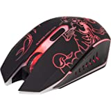 Marvo Scorpion Luminous M316 Gaming Mouse  Black