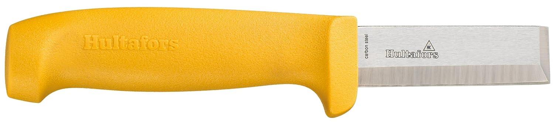 Hultafors 380070 Cuchillo cincel de acero japonés de 201 mm (incluye funda para el cinturón de plástico extra resistente)