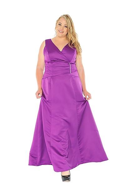 Astrapahl XXL, intransportables, vestido de noche, vestido de cóctel, vestido color morado