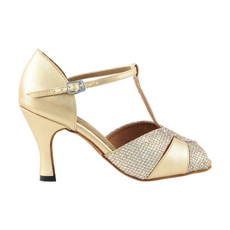 50 Shades of Gold Dance Dress Shoes Ballroom Salsa Wedding Clubing Swing