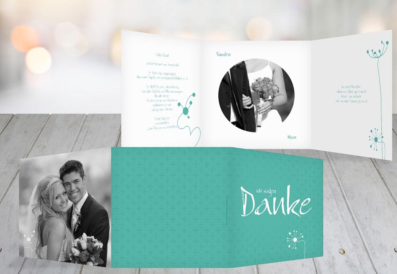 Kartenparadies Danksagung für Hochzeitsgeschenke Hochzeit Dankeskarte abstrakte Blaumen, hochwertige Danksagungskarte Hochzeitsglückwünsche inklusive Umschläge   20 Karten - (Format  145x145 mm) Farbe  Sonnengelb B01NAVMKL8 | Modisch