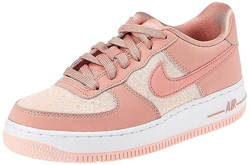 Nike Air Force 1 (GS), Zapatillas de Deporte para Mujer