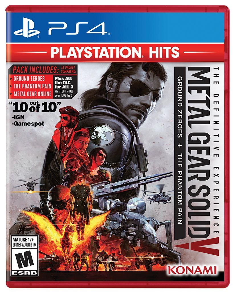 Metal Gear Solid V: The Definitive Experience - PlayStation Hits ...