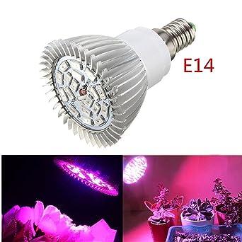 De E14 Lumière Pour Led Ampoule Légume Fruit Floraison Fleur BleuRouge Solmore 18 Eéclairage Croissance Lampe Culture Plante Végétale 8w Ow80PkXn