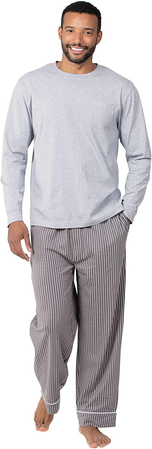 PajamaGram Pajamas for Men Cotton - Mens Pajama Sets