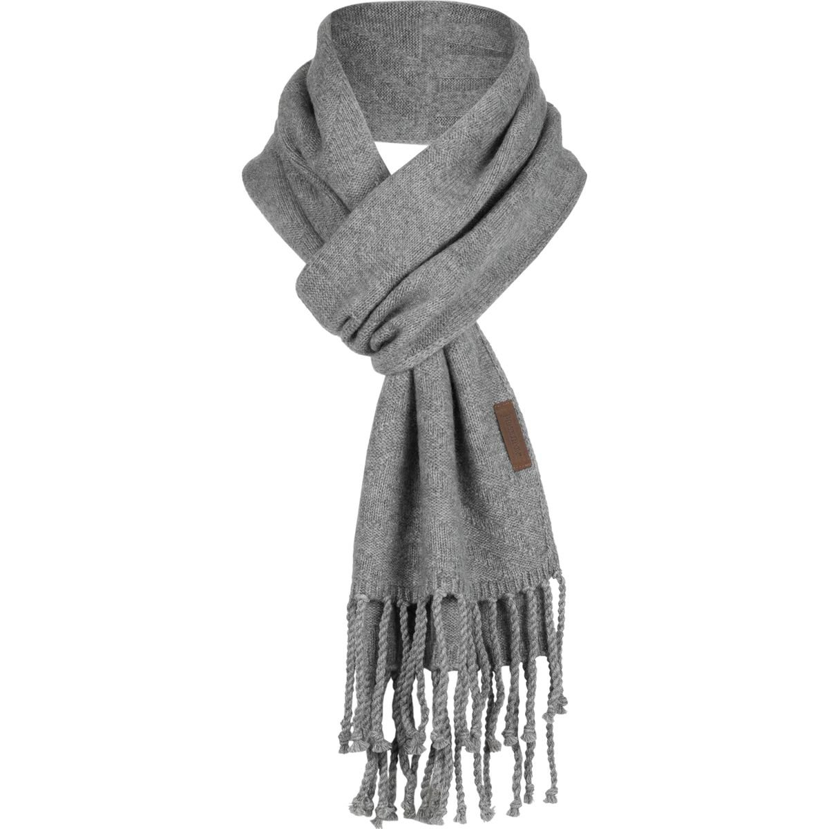 Pendleton Cashmere Scarf Soft Grey Heather, One Size