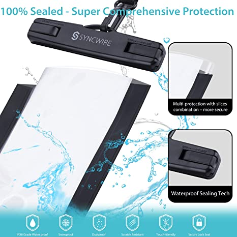 Amazon.com: Syncwire Waterproof Phone Pouch [2-Pack ...