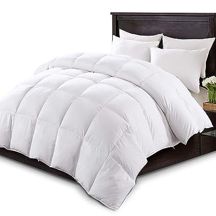 Amazoncom Kasentex Luxurious White Down Comforter Duvet Insert All