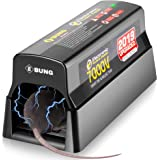 Ebung Electric Mouse Trap and Rat, Rodent, Chipmunk Zapper That Work— Instant and Humane Rodent Mice Killer – Powerful 7000 V Electrical Beam – Mess-Free Operation – Works Safe and Durable