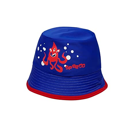 Image Unavailable. Image not available for. Color  Speedo Kids Infant  Toddler Uv50 Sun Protection Bucket Hat Blue ... 3d2cdeb0ae70