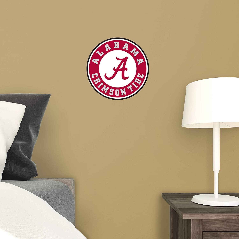 Fathead NCAA Alabama Crimson Tide Alabama Crimson Tide Giant Officially Licensed Removable Wall Decal Logo