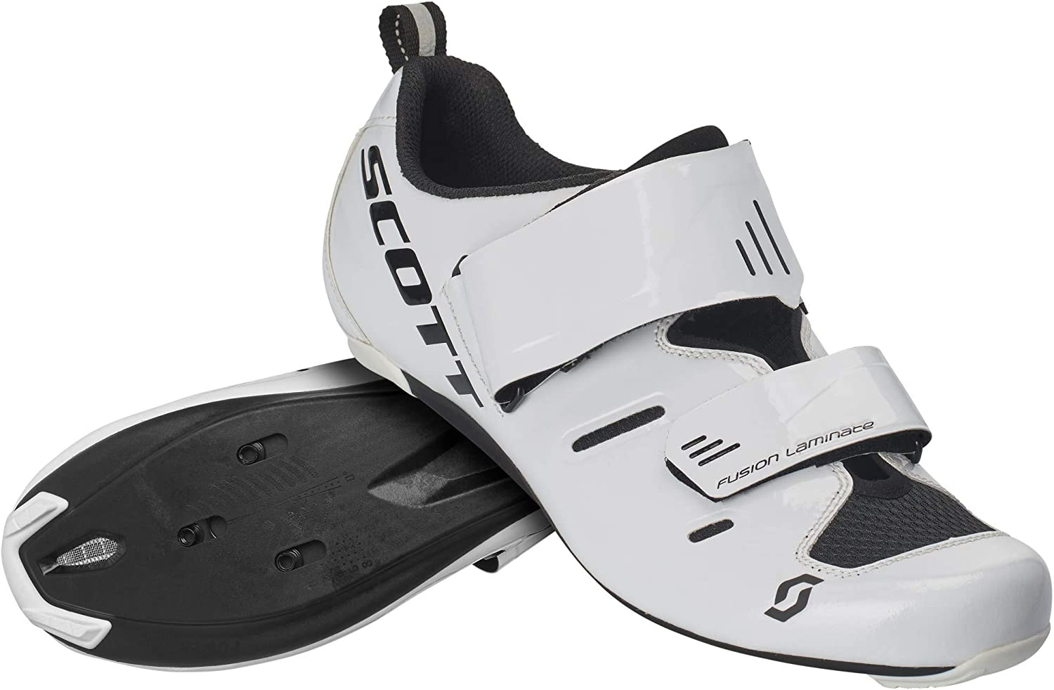 Scott Road Tri Pro Triathlon 2020 - Zapatillas de ciclismo, color blanco y negro