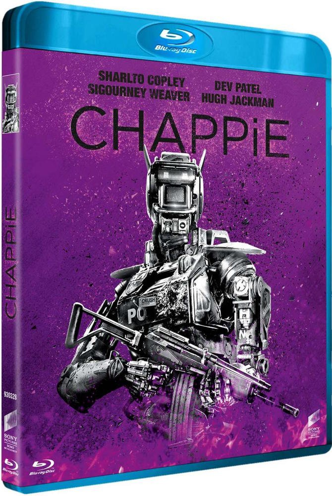 Chappie [Francia] [Blu-ray]: Amazon.es: Sharlto Copley, Dev ...