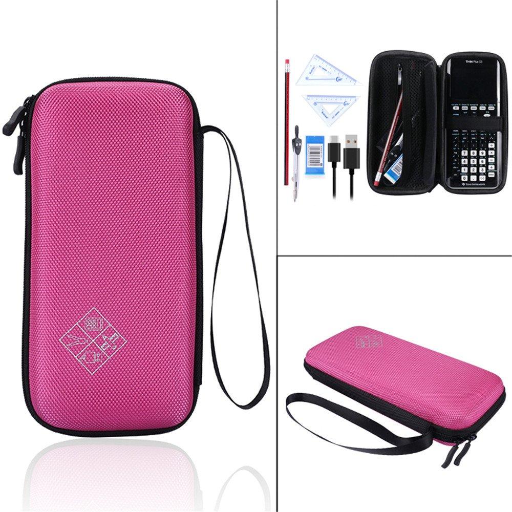 NiceCool Tasche Taschen Hülle for Texas Instruments TI-84 Plus CE Graphics Calculator, 83, 85, 89, 82, Plus / C Taschenrechner Schutztasche Case Hülle (Blau)