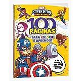 Marvel 100 Paginas Para Colorir Super Hero