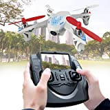 HUBSAN x4 H107D FPV 5.8G 4CH 6-Axis RC Drone Quadcopter with Camera ,Helicopter for Kids and Adults