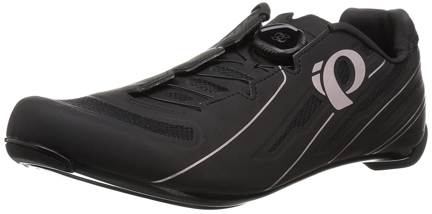 Pearl iZUMi Women's W Race Road v5 Cycling Shoe B071FNPFPL 42.0 M EU (10 US)|Black/Black