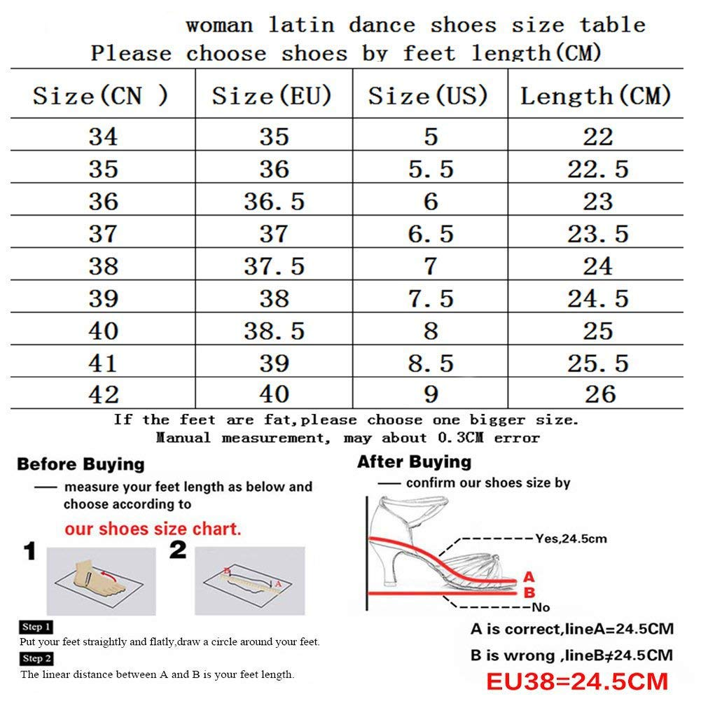 XIAOY Spitze Ballroom Leder Damen Latein Latein Latein Tanzschuhe Für Innen-Tanzen Geschlossen Zehen 8657b5
