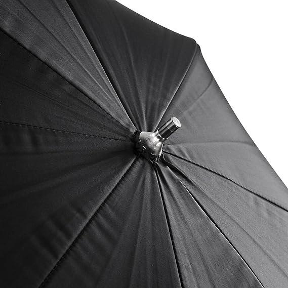 Walimex Pro - Paraguas 2 en 1 de 84 cm (transparente y réflex), blanco y negro: Amazon.es: Electrónica