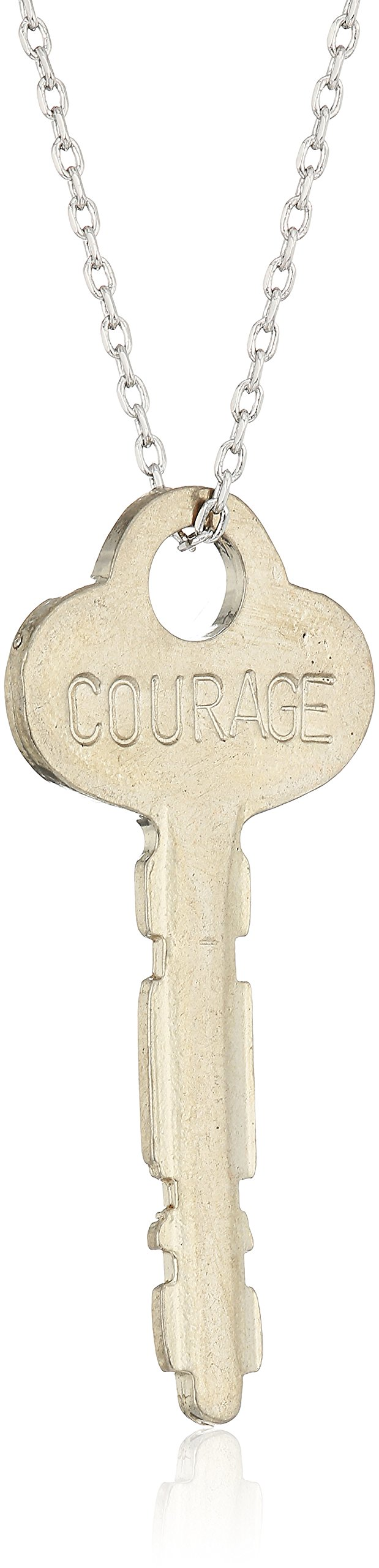 The Giving Keys Dainty XL Necklace COURAGE