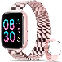 WWDOLL Smartwatch, Reloj Inteligente IP67 con Monitor Rítmo Cardíaco Sueño…
