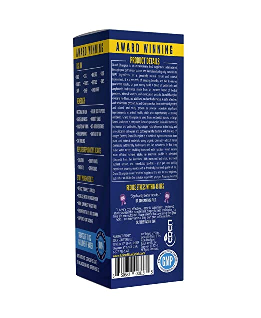 Amazon.com: Blue Gold Grand Champion 30 Day Pet Supplement ...
