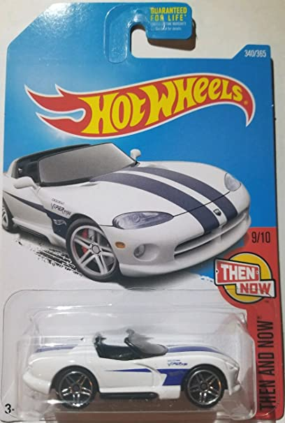 Amazon Com Hot Wheels 2017 Then And Now Dodge Viper Rt 10 340 365