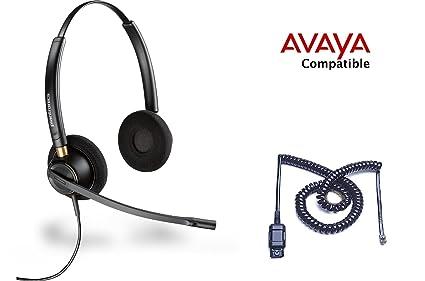 Amazon com : Avaya Compatible Plantronics HW520 EncorePro 520 Noise