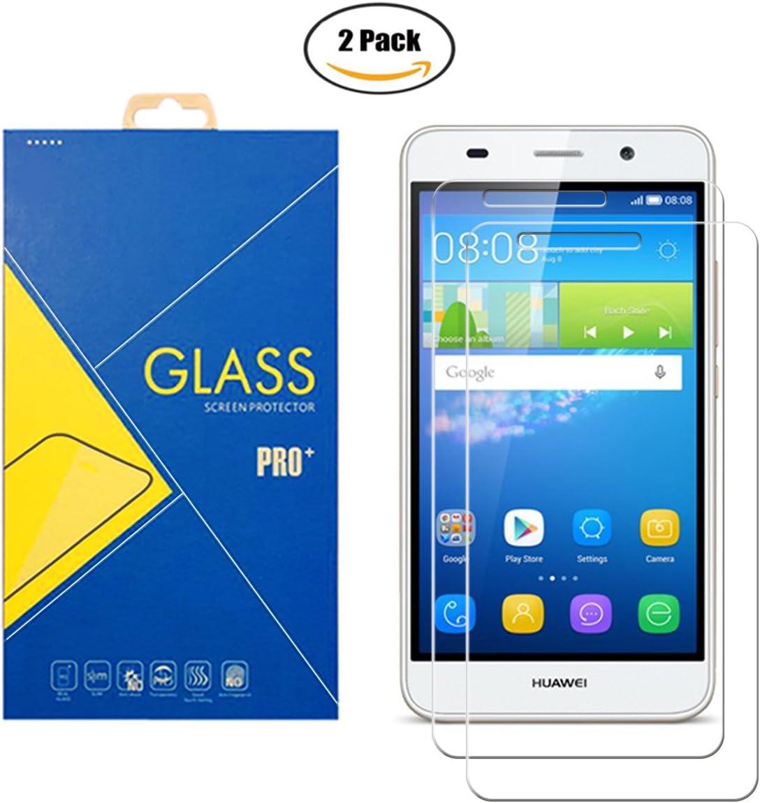 Protector de cristal templado para Huawei Y6 II CAM-L21 – Pantalla ...