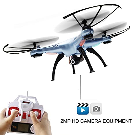 Syma X5HC RC aviones no tripulados Con 2MP HD Camera Roll 3D ...