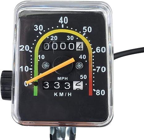 YXMxxm Ordenador mecánico para Bicicleta, cuentakilómetros de ...
