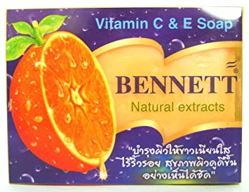 Jabón natural de vitamina C y E para recuperación de la piel, jabón para barras faciales (4 unidades): Amazon.es: Hogar