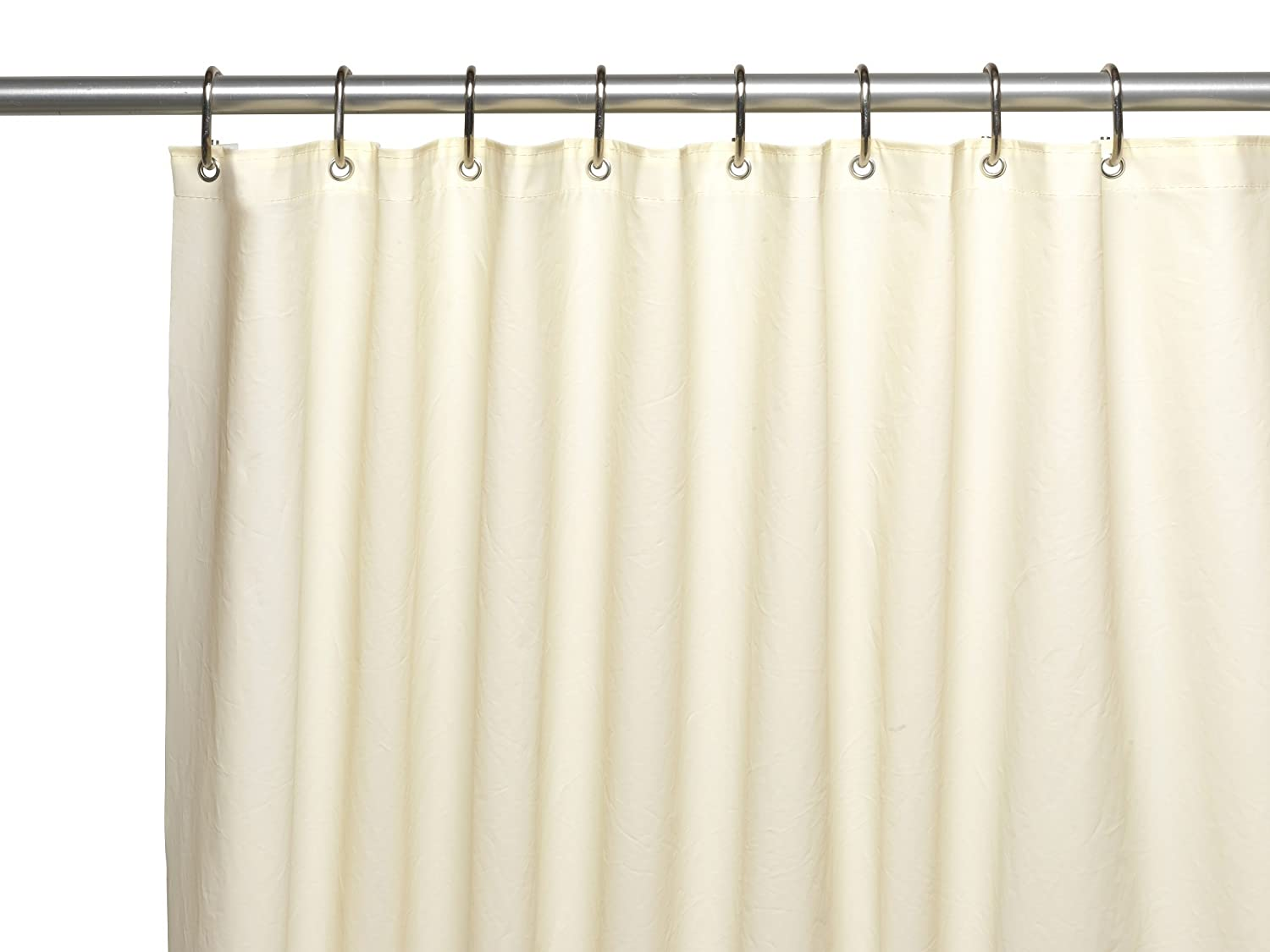 Amazon Royal Bath Extra Heavy 10 Gauge PEVA Non Toxic Shower Curtain Liner With Metal Grommets 72 X