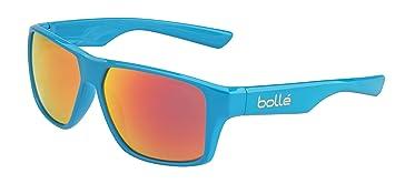 Bollé Brecken Gafas, Unisex Adulto, Azul (Cyan Brillante), L