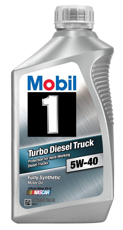 mobil 1 44986 5w 40 turbo diesel truck synthetic motor oil. Black Bedroom Furniture Sets. Home Design Ideas