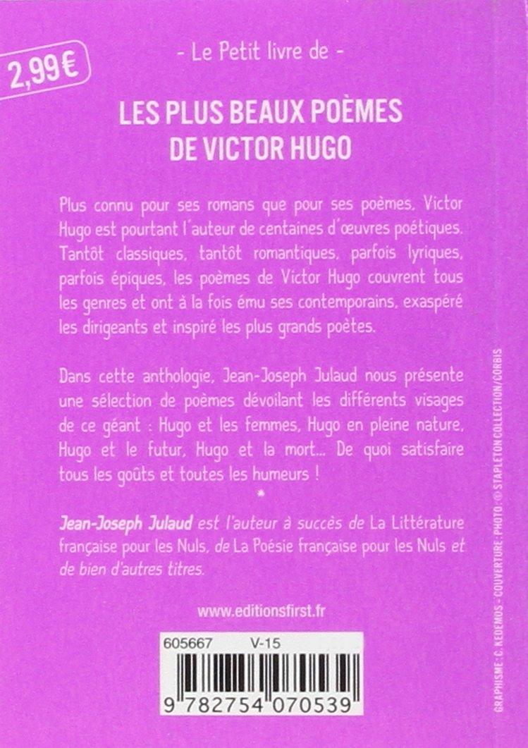 Petit Livre De Les Plus Beaux Poèmes De Victor Hugo