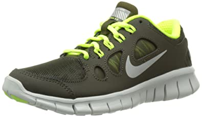Free 5.0 Shield (GS) dark green grey 616700 300 size 6.5y