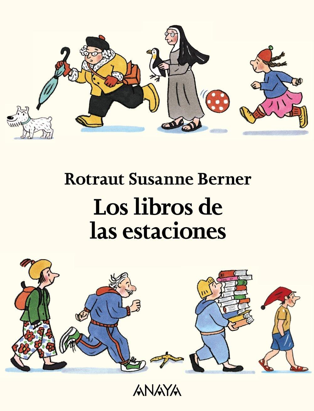Los libros de las estaciones (estuche): Rotraut Susanne ...