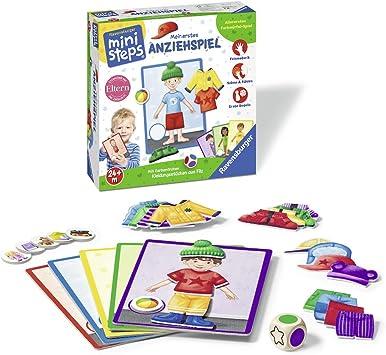 Ravensburger 00.004.546 Niños Juego de Mesa de Aprendizaje - Juego de Tablero (Juego de Mesa de Aprendizaje, Niños, 1,5 min, Niño/niña, 220 mm, 220 mm): Amazon.es: Juguetes y juegos