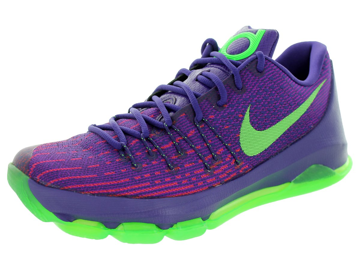 Nike Herren KD 8 Basketballschuhe, Talla  43 EU|Purple/Green